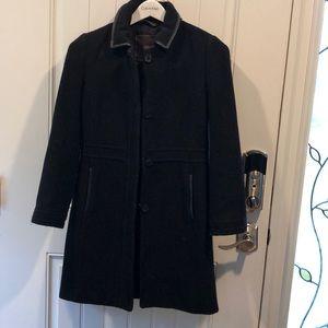 Coach pea coat size small